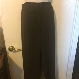 Rafaella nwt brown slacks
